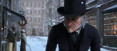 Geizhals Scrooge ist nicht besinnlich zumute