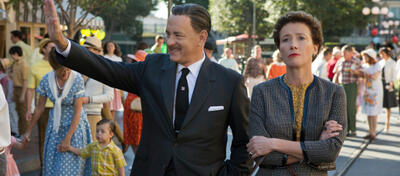 Tom Hanks & Emma Thomson in Saving Mr. Banks