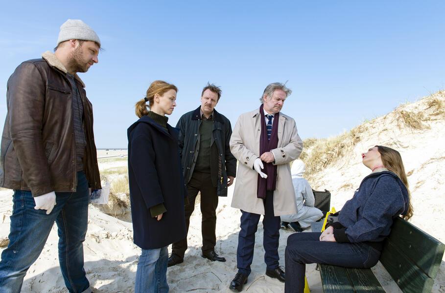 Die Toten am Meer mit Karoline Schuch, Christoph Letkowski, Max Herbrechter und Ronald Kukulies