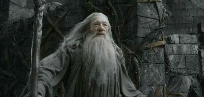 Gandalf, Zauberer, mit Merlin jedoch weder verwandt noch verschwägert.