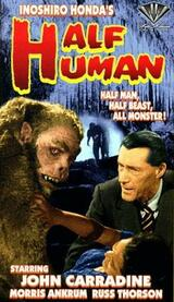 Half Human: The Story of the Abominable Snowman - Poster