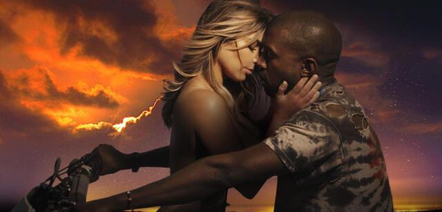 Kanye West und Kim Kardashian im Bound 2-Video.