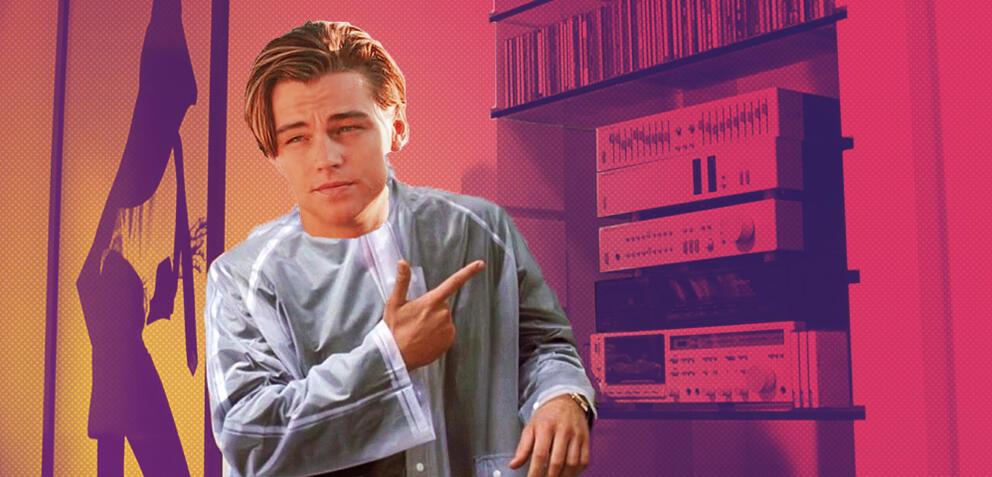 Leonardo DiCaprio in American Psycho