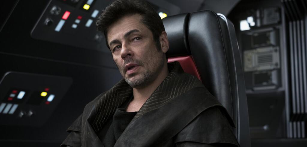 Benicio del Toro als DJ in Star Wars. Die letzten Jedi