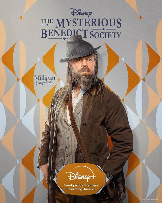 Die geheime Benedict-Gesellschaft, Die geheime Benedict-Gesellschaft - Staffel 1 mit Ryan Hurst