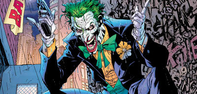 Joker in einem Comic