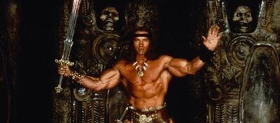 Arnold Schwarzenegger als Conan - Der Barbar