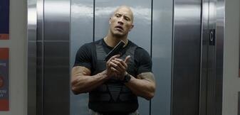 Dwayne Johnson in Central Intelligence