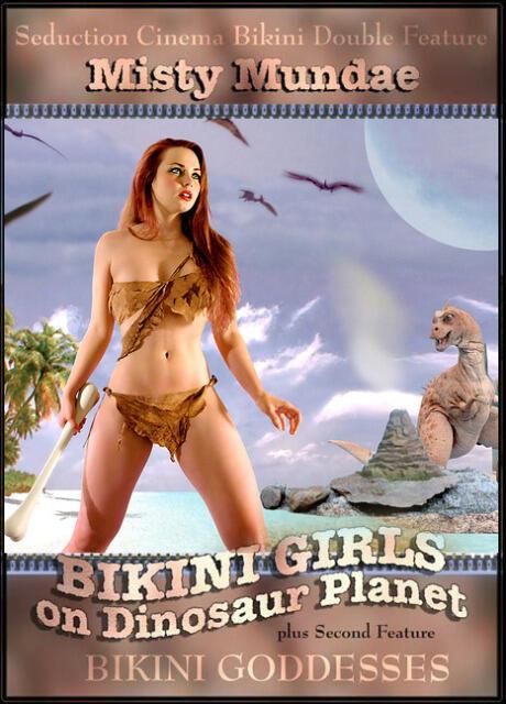Bikini girls on dinosaur planet 2005 photo 36