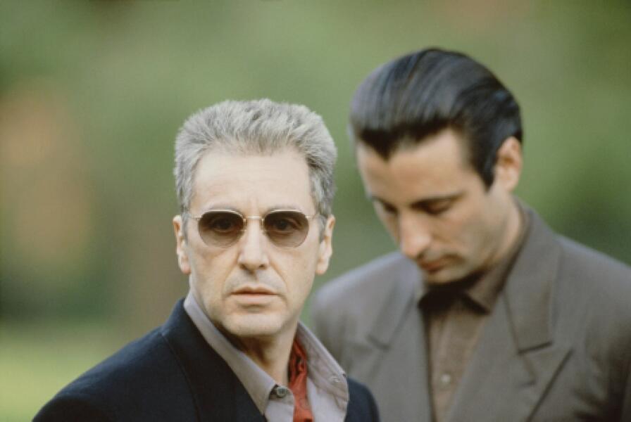 Der Pate 3 mit Al Pacino und Andy Garcia