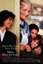 Mrs. Doubtfire - Das stachelige Kindermädchen Poster