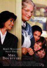 Mrs. Doubtfire - Das stachelige Kindermädchen - Poster