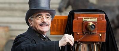 Cameoauftritt von Martin Scorsese in Hugo Cabret