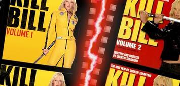 Bild zu:  Die Qual der Wahl habt ihr zwischen Kill Bill 1 und Kill Bill 2