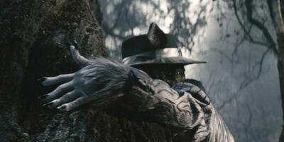 Versteckt: Johnny Depp als Wolf