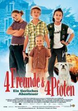 4 Freunde und 4 Pfoten - Poster