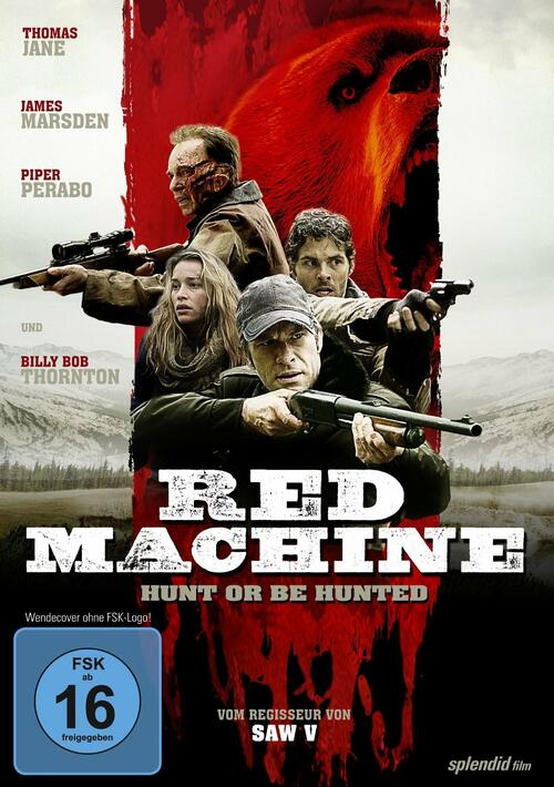 Red Machine Hunt Or Be Hunted Film 2014 Moviepilotde