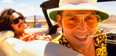 Benicio Del Toro und Johnny Depp in Fear and Loathing in Las Vegas