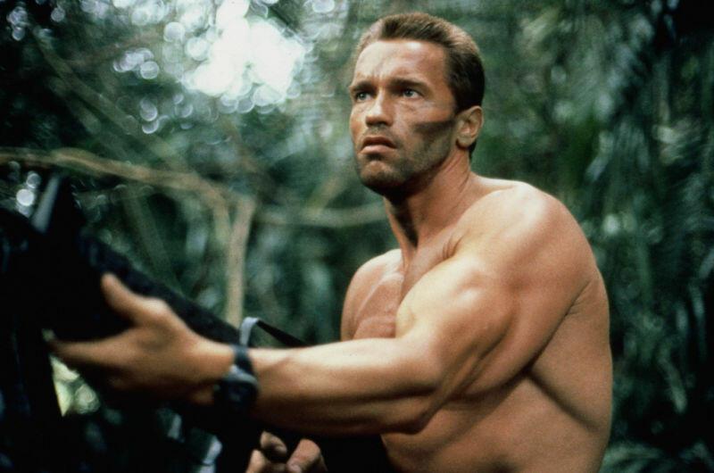 Predator mit Arnold Schwarzenegger