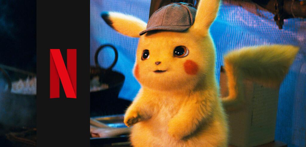 Pikachu trifft auf Netflix ein