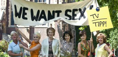 Arbeiterinnenstreik in We want sex