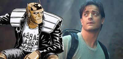 Brendan Fraser und Robotman