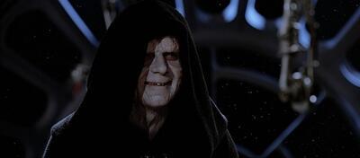 Der Imperator in Die Rückkehr der Jedi-Ritter