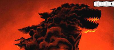 Ausschnitt aus dem Mondo-Poster zu Godzilla (2014)