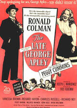 The Late George Apley - Poster