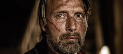 Mads Mikkelsen in The Salvation