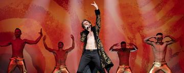 Dan Stevens im Eurovision-Film