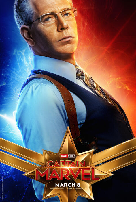 Captain Marvel mit Ben Mendelsohn