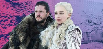 Bild zu:  Game of Thrones: Kit Harington und Emilia Clarke