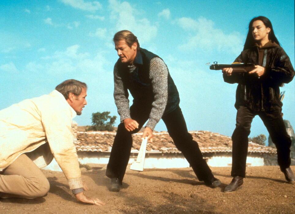 James Bond 007 - In tödlicher Mission mit Roger Moore und Carole Bouquet