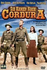 Sie kamen nach Cordura - Poster