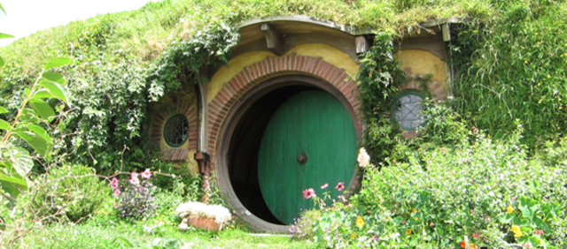 Bag End @ Hobbiton