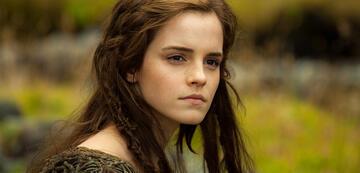 Emma Watson während einer anderen Umweltkatastrophe (in Noah)
