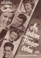 An jedem Finger zehn