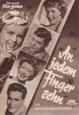 An jedem Finger zehn - Poster