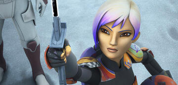 Sabine Wren in Star Wars Rebels