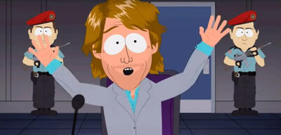Michael Bay in South Park