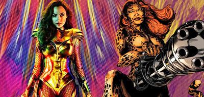Wonder Woman vs. Cheetah