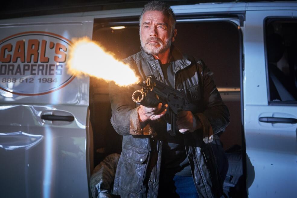 Terminator 6: Dark Fate mit Arnold Schwarzenegger