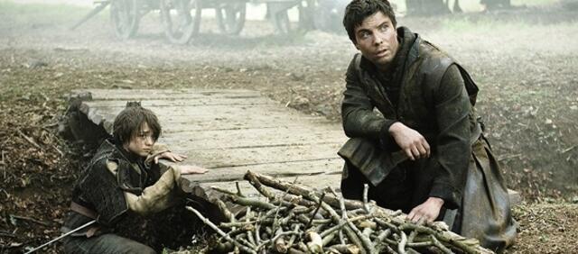 Arya und Gendry in The Night Lands