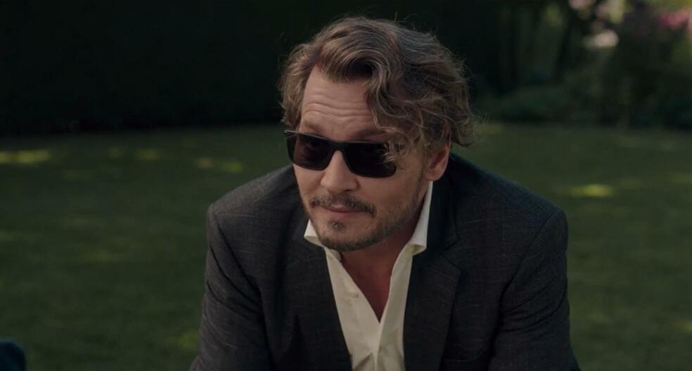 The Professor mit Johnny Depp