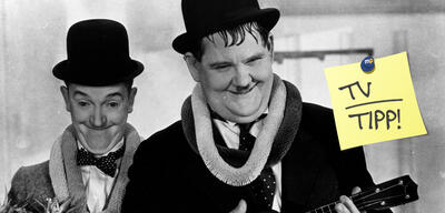 Laurel und Hardy in Die Wüstensöhne