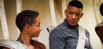 Will Smith und Jaden Smith in After Earth