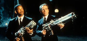 So kennt man Will Smith und Tommy Lee Jones in Men in Black
