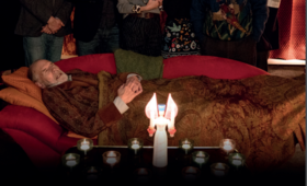 Die Auferstehung mit Joachim Król, Herbert Knaup, Dominic Raacke, Michael Rotschopf, Leslie Malton und Peter Maertens - Bild 3
