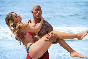 Dwayne Johnson in Aktion